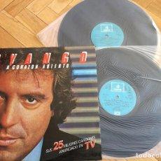 Discos de vinilo: DISCO VINILO DYANGO A CORAZON ABIERTO ODEON EMI DOBLE DISCO. Lote 103723363
