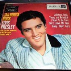 Discos de vinilo: ELVIS PRESLEY - JAILHOUSE ROCK (¡¡¡¡¡EN LP 33 RPM!!!!!). Lote 103723371
