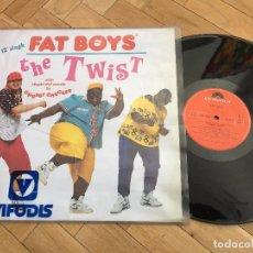 Discos de vinilo: DISCO VINILO FAT BOYS THE TWIST CHUBBY CHECKER VIFODIS POLYDOR 1988. Lote 103723551