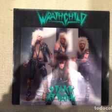 Discos de vinilo: WRATHCHILD -STAKK ATTAKK- (1985) LP DISCO VINILO. Lote 103724643