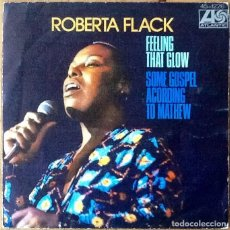 Discos de vinilo: ROBERTA FLACK : FEELING THAT GLOW [ESP 1975]. Lote 103725411