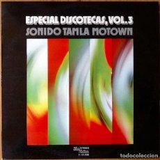 Discos de vinilo: V / A : SONIDO TAMLA MOTOWN [ESP 1974]. Lote 103725991