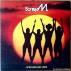Discos de vinilo: BONEY M : BOONOONOONOOS [ESP 1981]. Lote 103726163