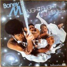 Discos de vinilo: BONEY M : NIGHTFLIGHT TO VENUS [ESP 1978]. Lote 103726375