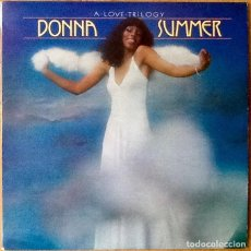 Discos de vinilo: DONNA SUMMER : A LOVE TRILOGY [ESP 1976]. Lote 103726559