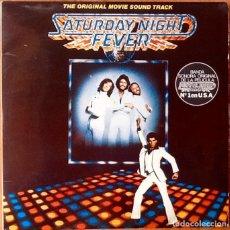 Discos de vinilo: V / A . BSO SATURDAY NIGHT FEVER [ESP 1977]. Lote 103726847