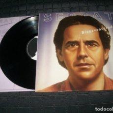 Discos de vinilo: JOAN MANUEL SERRAT - BIENAVENTURADOS - LP DE ARIOLA, 1987 CON LETRAS - MUY BUEN ESTADO .. Lote 103727031