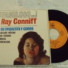 Discos de vinilo: RAY CONNIFF ORQUESTA Y COROS - BESAME MUCHO - BRASIL , 1962. Lote 103731011
