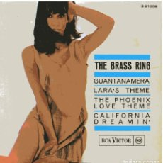 Discos de vinilo: THE BRASS RING / GUANTANAMERA + 3 (EP 1966). Lote 103743159
