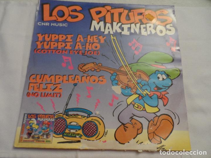 LOS PITUFOS MAKINEROS (Música - Discos - LP Vinilo - Electrónica, Avantgarde y Experimental)