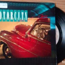 Discos de vinilo: SINGLE (VINILO)-PROMOCION- MOTORCITY SOUND AÑOS 90. Lote 103747751