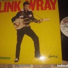 Discos de vinilo: LINK WRAY PRIMERAS GRABACIONES 50S CULT BATMAN TRASH (MOVIPLAY-1979)OG ESPAÑA NUEVO. Lote 103748407