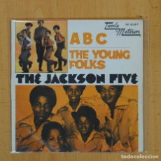 Discos de vinilo: THE JACKSON FIVE - ABC / THE YOUNG FOLKS - SINGLE. Lote 103748504