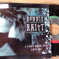 Discos de vinilo: SINGLE (VINILO)-PROMOCION- DE BONNIE RAITT AÑOS 90. Lote 103748975