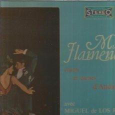 Discos de vinilo: MIGUEL DE LOS REYES MUCHO FLAMENCO. Lote 103749575