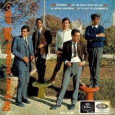 Discos de vinilo: THE FOUR WINDS AND DITO RECUERDA - EL JUICIO UNIVERSAL - DISCO DE 4 CANCIONES AÑO 1966. Lote 103751999