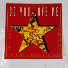 Discos de vinilo: BOYZZ IN ATIC. DO YOU LOVE ME. MAXI-SINGLE. TDKDA21. Lote 103756343