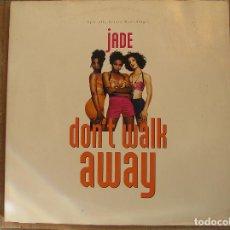 Discos de vinilo: DSJADE (3) – DON'T WALK AWAY - GIANT RECORDS 1992 - MAXI - P. Lote 103757975