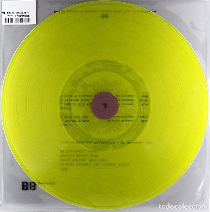 Discos de vinilo: Ornette Coleman * LP 180g * Live in Beograd Yugoslavia 2-11-1971 * Precintado * 500 copias!!! - Foto 2 - 103760239