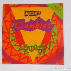Discos de vinilo: TROPICANA CLUB. - INTERPRETA CUMBIAS EXTRAIDO DEL ALBUM TROPICAL. MAXI SINGLE. TDKDA21. Lote 103761279
