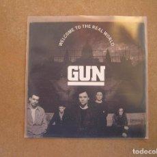 Discos de vinilo: GUN (2) – WELCOME TO THE REAL WORLD - A&M RECORDS 1992 - SINGLE - P. Lote 103762899