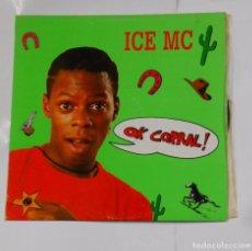 Discos de vinilo: ICE MC - OK CORRAL - MAXI SINGLE. TDKDA21. Lote 103763035