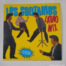 Discos de vinilo: LOS SOLITARIOS - LATINO MIX. MAXI SINGLE. TDKDA21. Lote 103763083