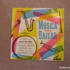 Discos de vinilo: MUSICA PARA BAILAR - ORQUESTA GLEN MILLER - LA VOZ DE SU AMO 1954 - SINGLE - P. Lote 103763179