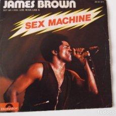 Discos de vinilo: JAMES BROWN - SEX MACHINE. Lote 103763735