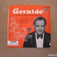 Discos de vinilo: GERALDO Y SU NUEVA ORQUESTA DE CONCIERTOS - PHILIPS 1958 - SINGLE - P. Lote 103763863