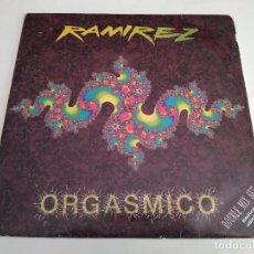Discos de vinilo: RAMIREZ - ORGASMICO / 2 X MAXI SINGLE IMPORT TEMAZOS RUTA DESTROY VALENCIA. Lote 103770623