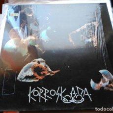 Discos de vinilo: LP KORROSKADA - POR LAS BUENAS COSTUMBRES - DISCOS SUICIDAS 1987 VG+. Lote 103770779