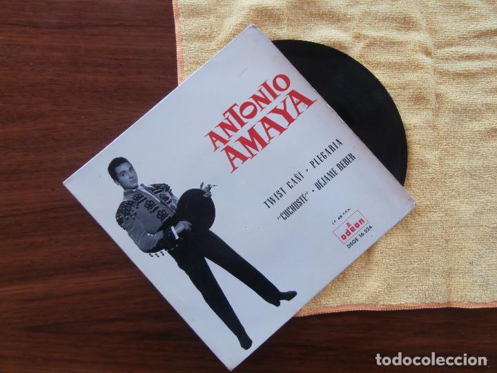 ANTONIO AMAYA (Música - Discos - Singles Vinilo - Flamenco, Canción española y Cuplé)