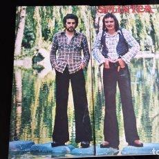 Discos de vinilo - LP SPLINTER: THE PLACE I LOVE (Edic. UK 1974) - 103777167
