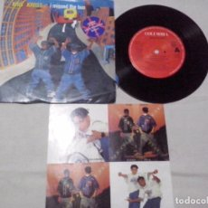 Discos de vinilo: MUSICA SINGLE: KRIS KROSS - I MISSED THE BUS (ABLN). Lote 103781435