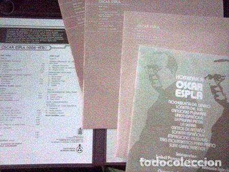 Discos de vinilo: TRIPLE LP VINILO HOMENAJE OSCAR ESPLA - Foto 2 - 103782347