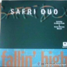 Discos de vinilo: SAFRI DUO– FALLIN' HIGH - MAXI-SINGLE SPAIN 2003. Lote 103786943