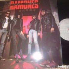 Discos de vinilo: RAMONES HALFWAY TO SANITY (ARIOLA-1987) PRIMERA EDICION OG ESPAÑA EXCELENTE CONDICION. Lote 103788207