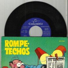 Discos de vinilo: DISCO COMIC ROMPETECHOS 'DE VIGÍA… ¡QUIÉN LO DIRÍA!' . 1971. Lote 103801015