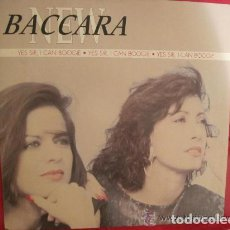 Discos de vinilo: NEW BACCARA - YES SIR , I CAN BOOGIE - 1990 ( MAXISINGLE ). Lote 103802147