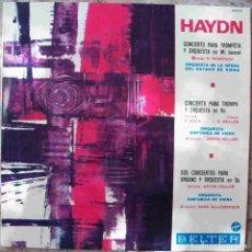 Discos de vinilo: DISCOS (HAYDN) CONCIERTOS. Lote 103803191