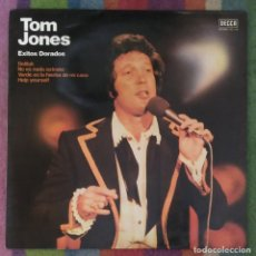 Discos de vinilo: TOM JONES (EXITOS DORADOS) LP. Lote 103805083