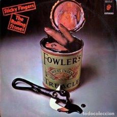 Discos de vinilo: STICKY FINGERS - ROLLING STONES - SPAIN 1971. Lote 103806431