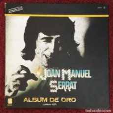 Discos de vinilo: JOAN MANUEL SERRAT (ALBUM DE ORO) 4 LP'S 1981. Lote 114705624