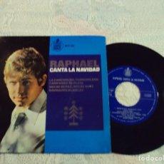 Discos de vinilo: RAPHAEL. CANTA LA NAVIDAD. LA CANCION DEL TAMBORILERO,CAMPANAS DE PLATA,NOCHE DE PAZ,NOCHE 1965. Lote 103806943