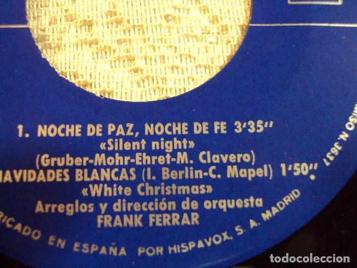 Discos de vinilo: RAPHAEL. CANTA LA NAVIDAD. LA CANCION DEL TAMBORILERO,CAMPANAS DE PLATA,NOCHE DE PAZ,NOCHE 1965 - Foto 2 - 103806943