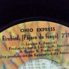 Discos de vinilo: OHIO EXPRESS CHEWY CHEWY/FIREBIRD SINGLE 1968 BUDDAH EDICION ESPAÑOLA. Lote 103807307