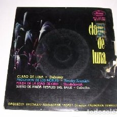 Discos de vinilo: CLARO DE LUNA DEBUSSY ORQUESTA EASTMAN ROCHESTER POPS DIR. FREDERICK FENNELL. Lote 103807967