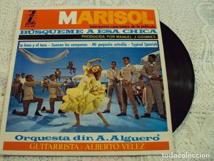 MARISOL. CANCIONES DE BUSQUEME A ESA CHICA, ZAFIRO, 1964 (Música - Discos - Singles Vinilo - Solistas Españoles de los 50 y 60)