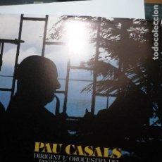 Discos de vinilo: DISCO 33 RPM J.SEBASTIAN BACH - PAU CASALS. Lote 103809219